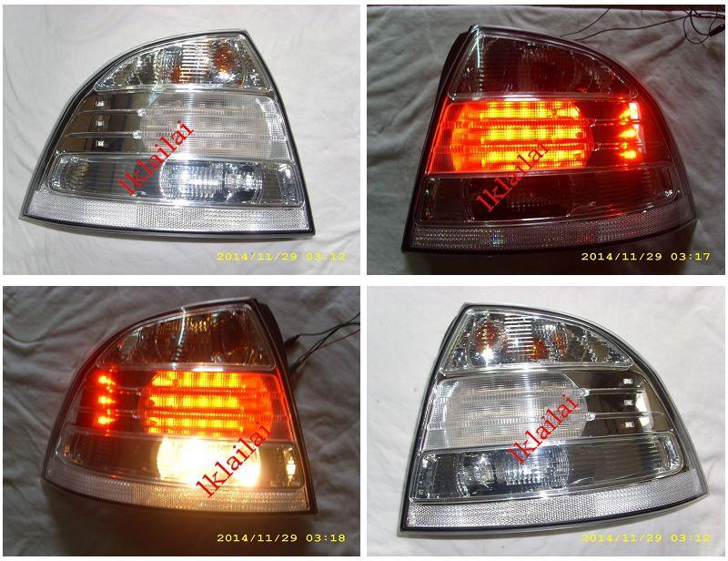 DEPO Proton Saga BLM `08 Tail Lamp Crystal LED Clear [Lexus Look]