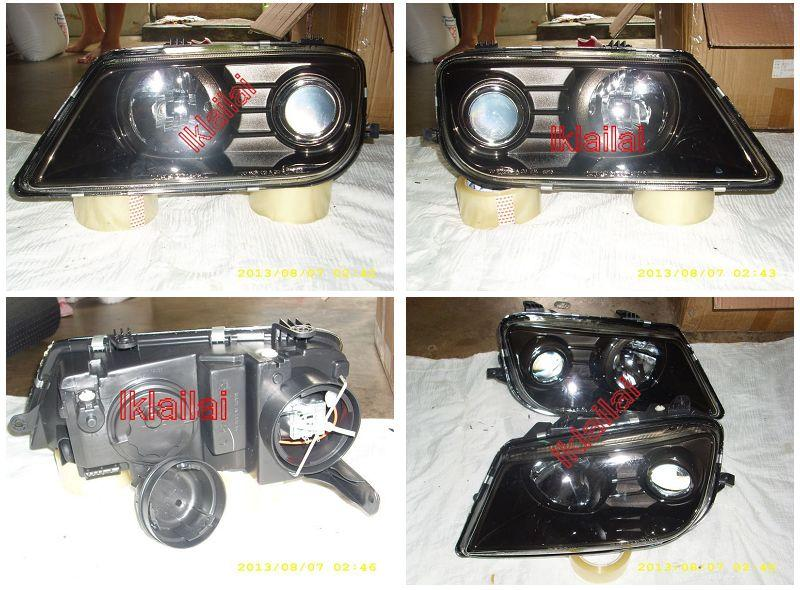 DEPO Proton Waja Campro Projector Head Lamp Black Housing