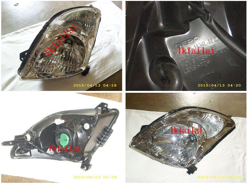 DEPO Suzuki Swift '05 Crystal Chrome Head Lamp [Per side only]