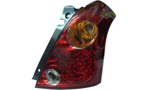 DEPO Suzuki Swift `05 Tail Lamp Crystal LED Red Lens [SK01-RL06-U]