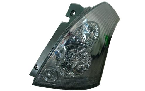 DEPO Suzuki Swift `05 Tail Lamp Crystal LED Smoke [SK01-RL05-U]