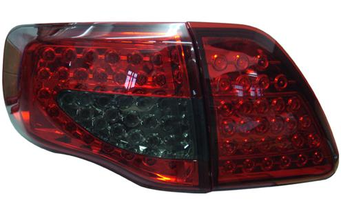 DEPO Toyota 08 Altis Tail Lamp Crystal LED Red/Smoke (TY16-RL01-U)