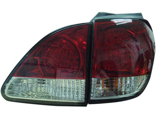 DEPO Toyota Harrier RX300 `98-02 MCU15 Tail Lamp Crystal LED Red/Clear