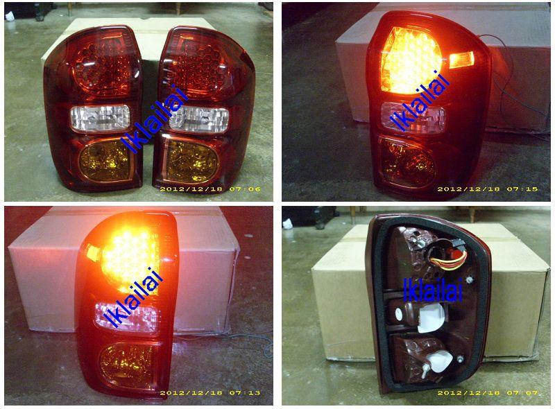 DEPO Toyota RAV 4 98-04 Tail Lamp Crystal LED [TY30-RL03-U]