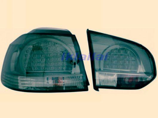 DEPO Volkswagen Golf 6 `08 Tail Lamp Crystal LED Smoke [VW02-RL02-U]
