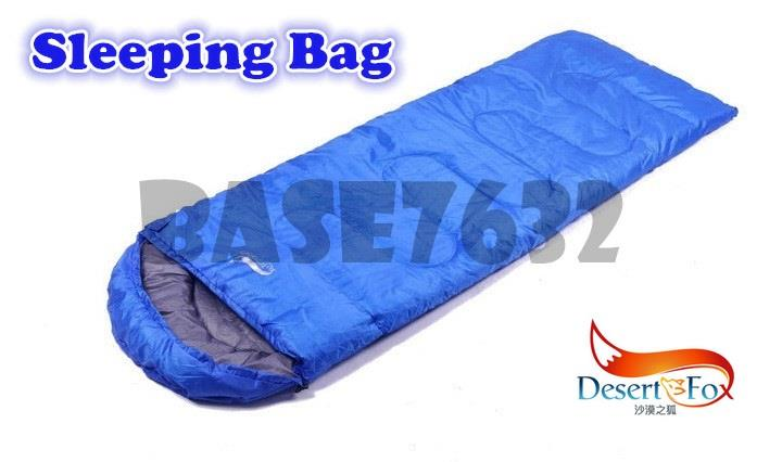 Desert Fox Sleeping Bag Camping Travel Mattress Tent Outdoor Kit