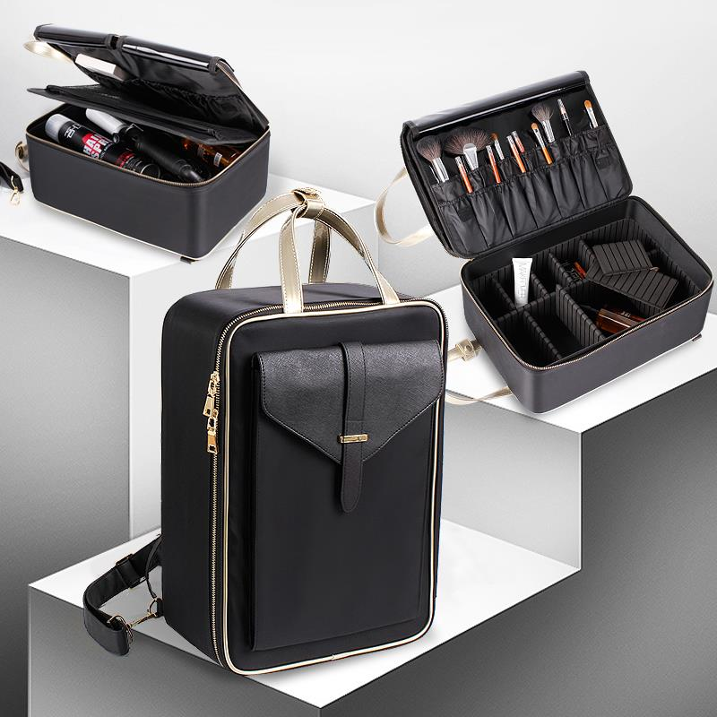 New Design Compartment Makeup Bag Cosmetics Organizer Travelling
