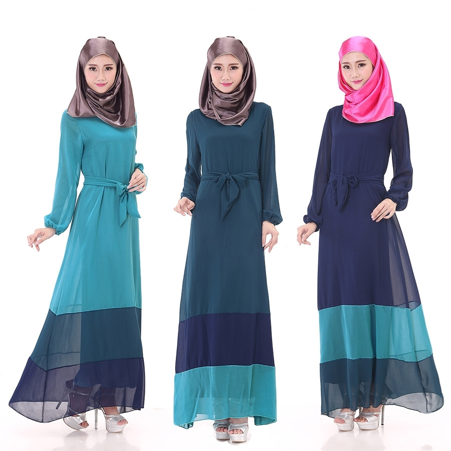 Designer Muslim Gowns Long Sleeve L (end 8/17/2016 11:46 AM)
