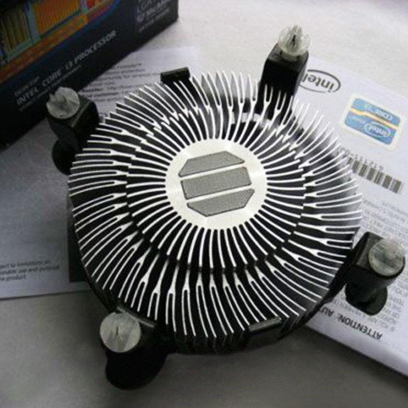 Desktop Computer CPU Cooler Heat Sink Fan4 Pin For Intel LGA 1156 1151
