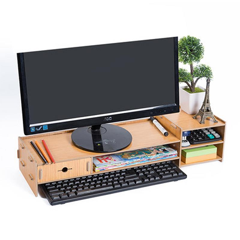 Desktop Organiser with Extended Shelf