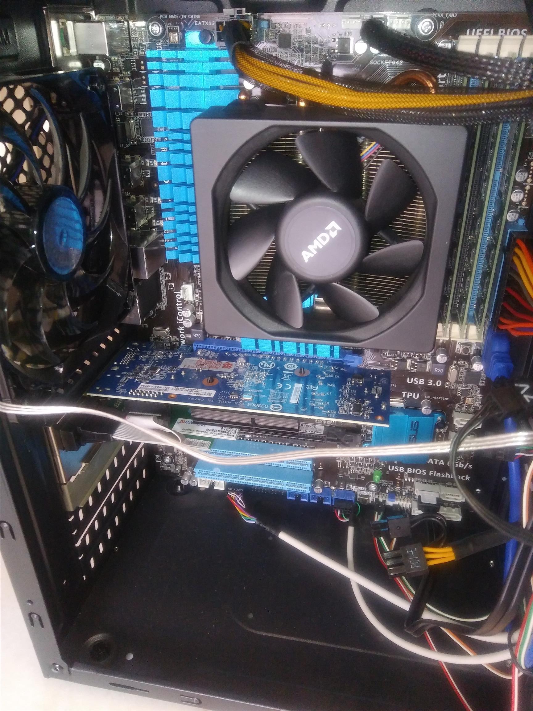 Desktop PC Computer (AMD FX-8350 8-core 4Ghz, 16G RAM, 240G SSD)