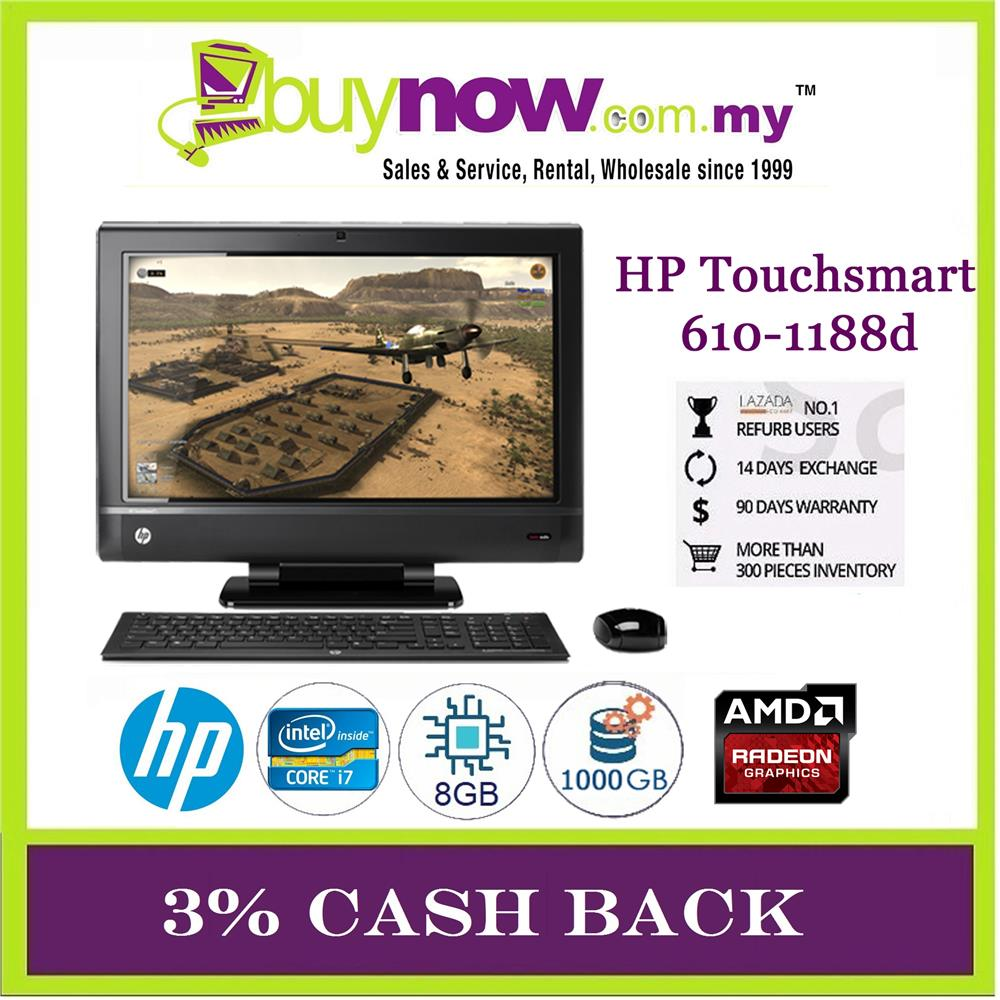 Wondrous Used Desktop Pc Hp Touchsmart 610 1188D Intel Core I7 8Gb 1Tb Windows Download Free Architecture Designs Scobabritishbridgeorg
