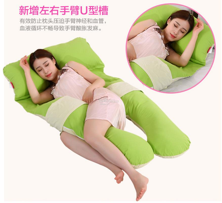 Detachable Maternity Pillow Pregnancy Support U Shape Cushion