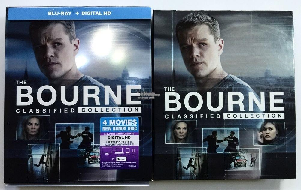 Details about  THE BOURNE CLASSIFIED COLLECTION BLU RAY ALL 4 MOVIES