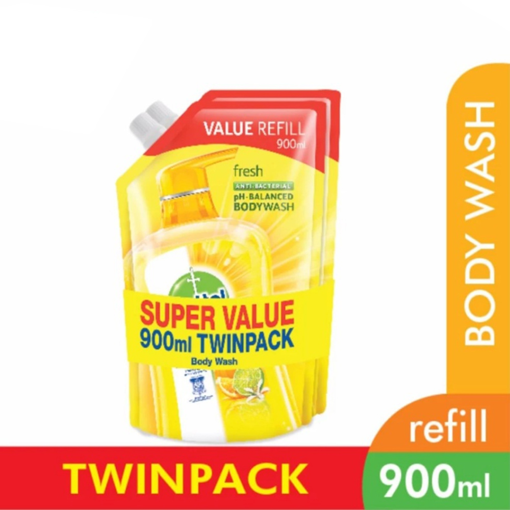 Dettol Shower Gel Fresh 900ml Refill End 2 1 2020 410 Pm Original Series Package Pouch Twin Pack