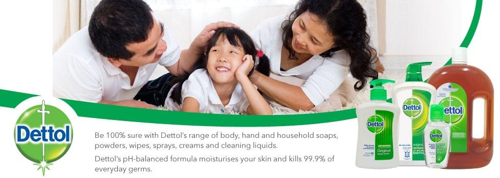 Dettol Trigger Anti-Bacterial Surface Cleaner Spray 500ML