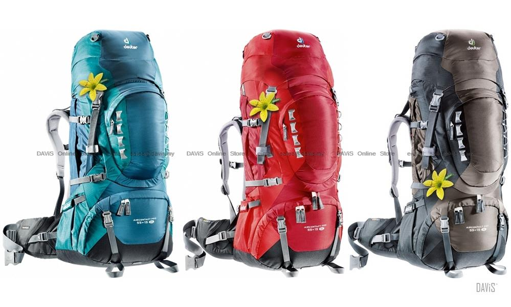 buy online speical offer great fit Deuter Aircontact PRO 55+15 SL - 33813 - Trekking - Aircontact Pro