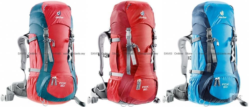 Deuter Fox 30 - 36053 - Fit Kids   Adults - Trekking - Alpine Back. ‹ › 1da5c8adb983c