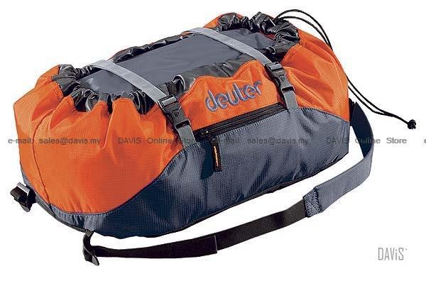 Deuter Rope Bag Orange Granite Climbing Sacks Packs