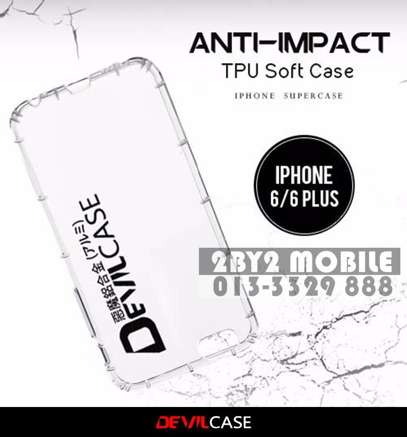 DEVILCASE Anti Impact TPU Protective Apple iPhone 6 6s 6 Plus CSTOCK