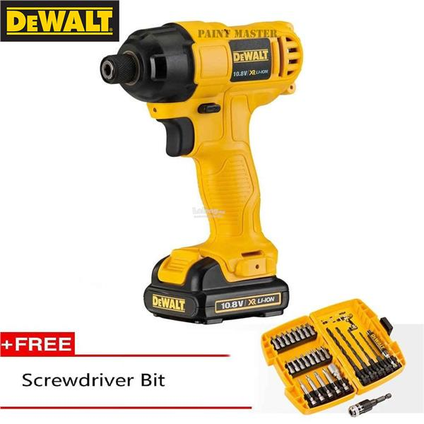 dewalt screw gun. dewalt dcf805c2a li-ion impact screw driver 10.8v (1 year warranty) dewalt screw gun a