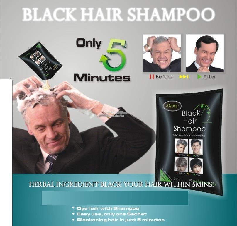Dexe Black Hair Shampoo Latest Batch (end 4/9/2018 12:15 AM)