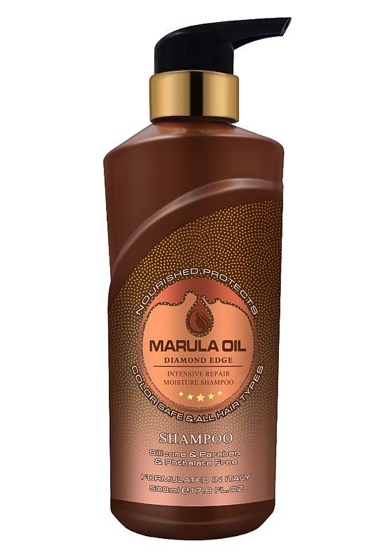 Diamond Edge Marula Oil Intensive Repair Moisture Shampoo 500ml