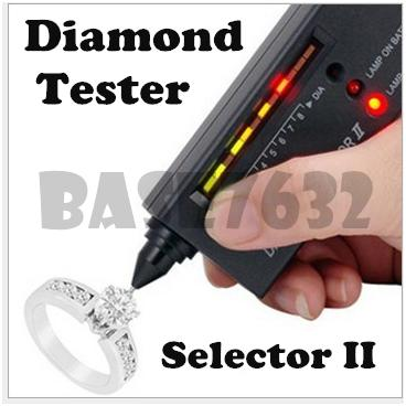 Diamond Selector II Tester Genuine Meter Thermal Pen Device Pen