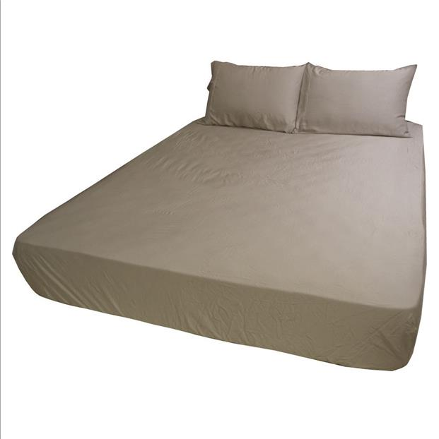 DiBello 100% Organic Bamboo Bed Sheet Set (Color: Simply Taupe)