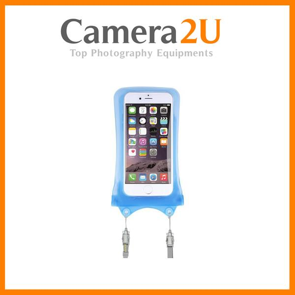 DICAPAC WP-I10 WATERPROOF CASE FOR IPHONE 5 / 6 / 7 (BLUE)
