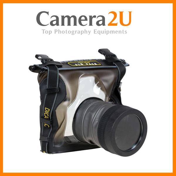 DICAPAC WP-S10 WATERPROOF CASE FOR DSLR CAMERAS