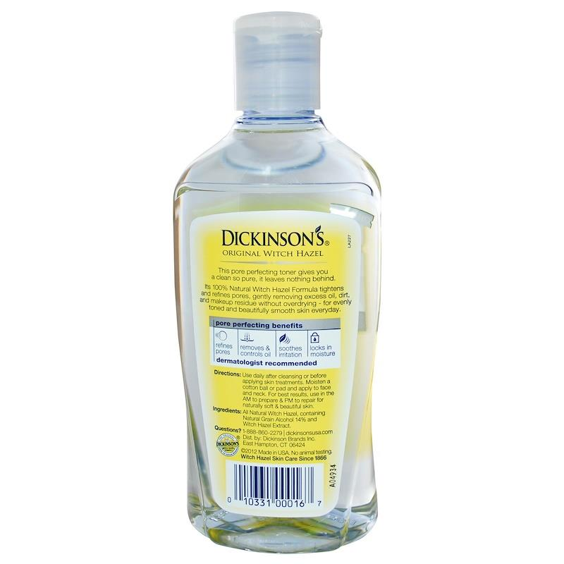 Dickinson Brands, Pure Witch Hazel, Pore Perfecting Toner (473ml)