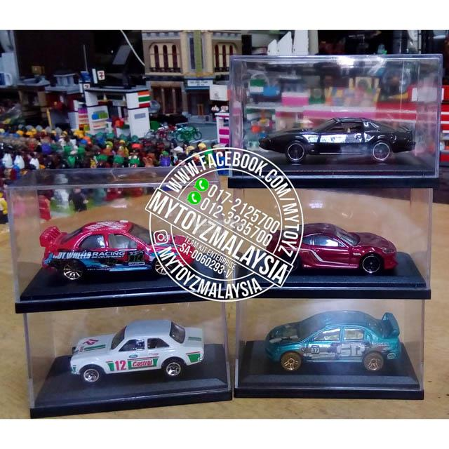 Die-Cast Vehicle Display Case