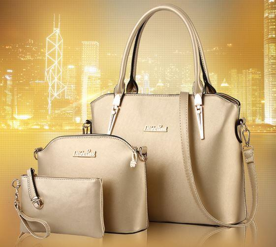 DIGERUI 3 in 1 set simple handbag s (end 4 18 2019 10 31 PM) e6fcb0cce3