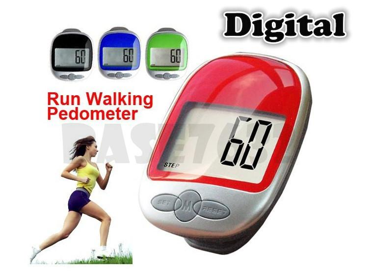 Digital Electronic Large LCD Pedometer Step Walking Jogging Counter