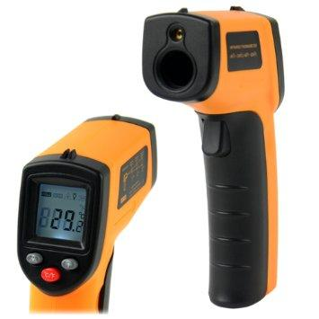 DIGITAL IR NON CONTACT THERMOMETER GM320 HEAT MEASUREMENT