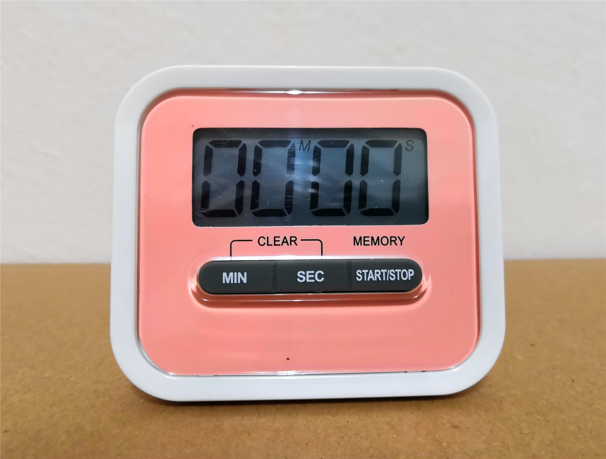 Digital Magnet Attached Countdown Timer With Jumbo Display