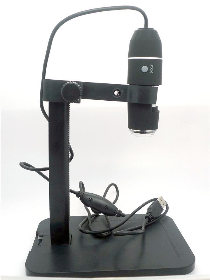 Digital Microscope 1000X Lift Stand zoom USB Magnifier camera 1600x