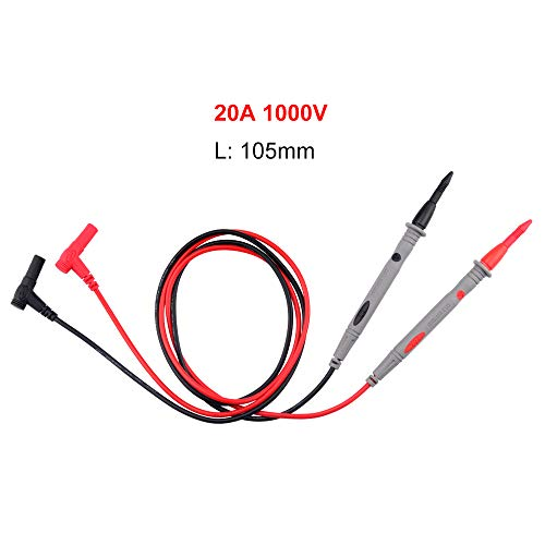 Digital Multimeter Probe Electronic Test Leads Pin for Clamp Meter Needle Thin