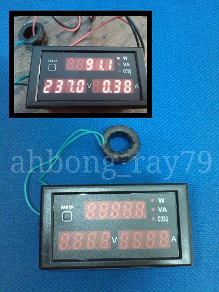 Power Consumption Meter : Digital power consumption meter volta end pm