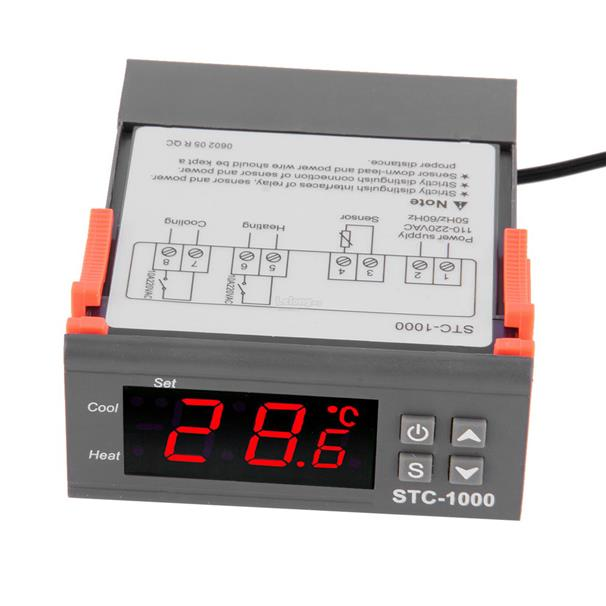 Digital STC-1000 All-Purpose Temperature Controller Thermostat Sensor