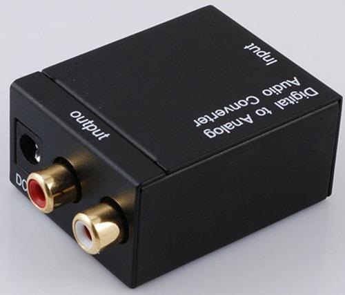 Digital to Analog Audio SPDIF to L/R Converter HY-400