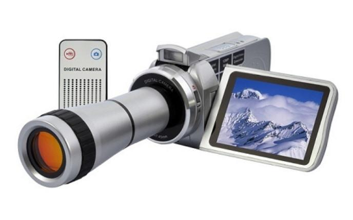 Digital Video Camcorder with Telescope Zoom Lens (DG-04).
