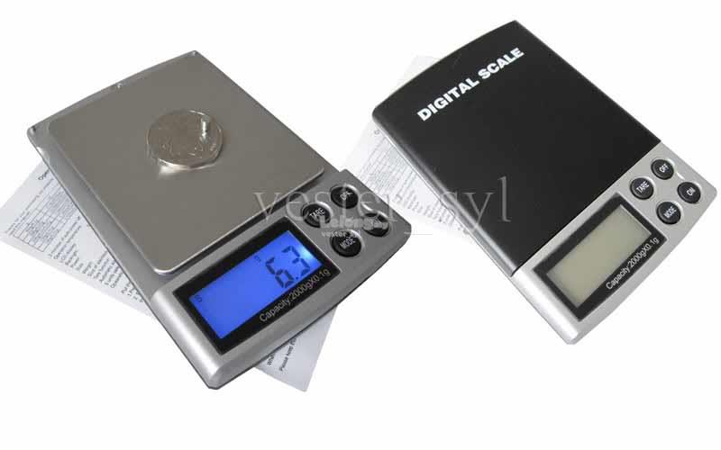 Digital Weighing Scale 2000g / 0.1g (2kg) 2000 0.1 New