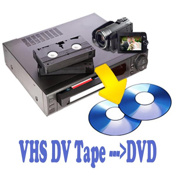 Digitalise VHS Tape to DVD Disc Tran (end 5/22/2019 2:39 AM)