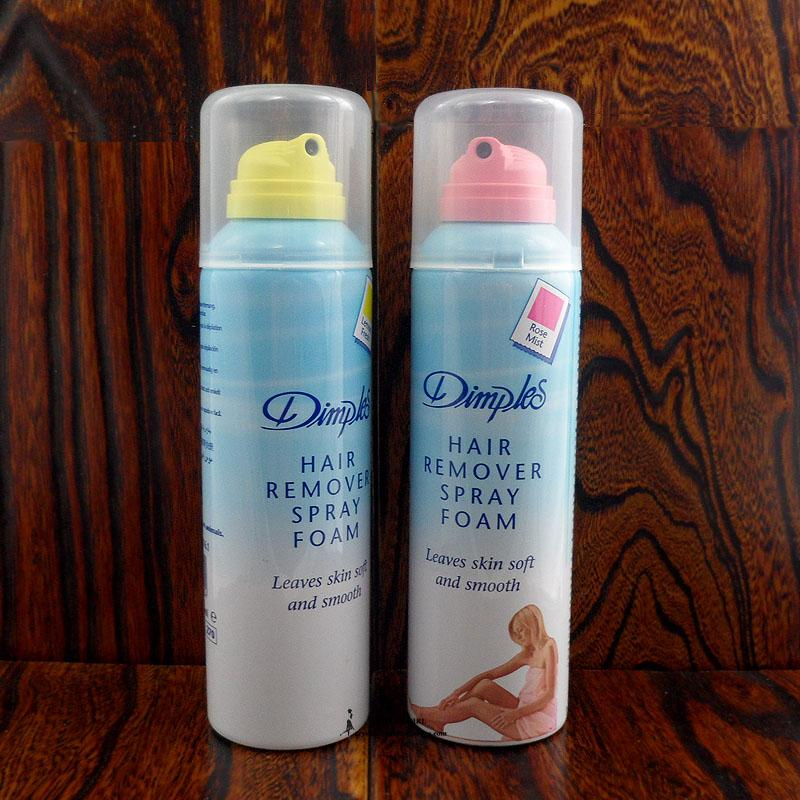 Dimples Hair remover Spray Foam 200 ml  lemon Mint