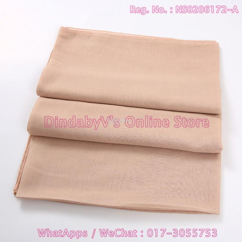 [DindabyV] Set of 3 KA.CYLANK Cotton Voile Bawal A01