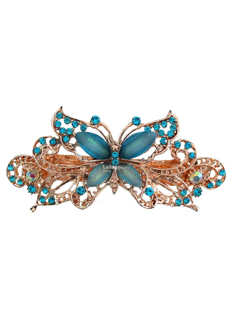 Dinner Hair Accessories: Party Butterfly Hair Clip Headpiece