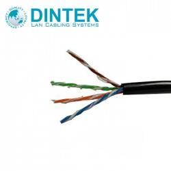DINTEK Cat6 4Pair UTP Outdoor Jelly Filled Cable 305M (1101-04026)