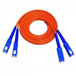 DINTEK FIBER OPTIC SC-SC DUPLEX PATCH CORD 10 METER CABLE